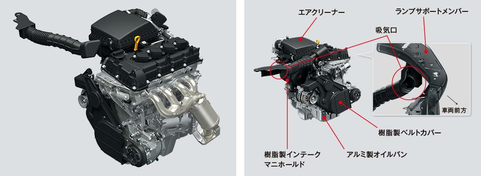 K15B型エンジン
